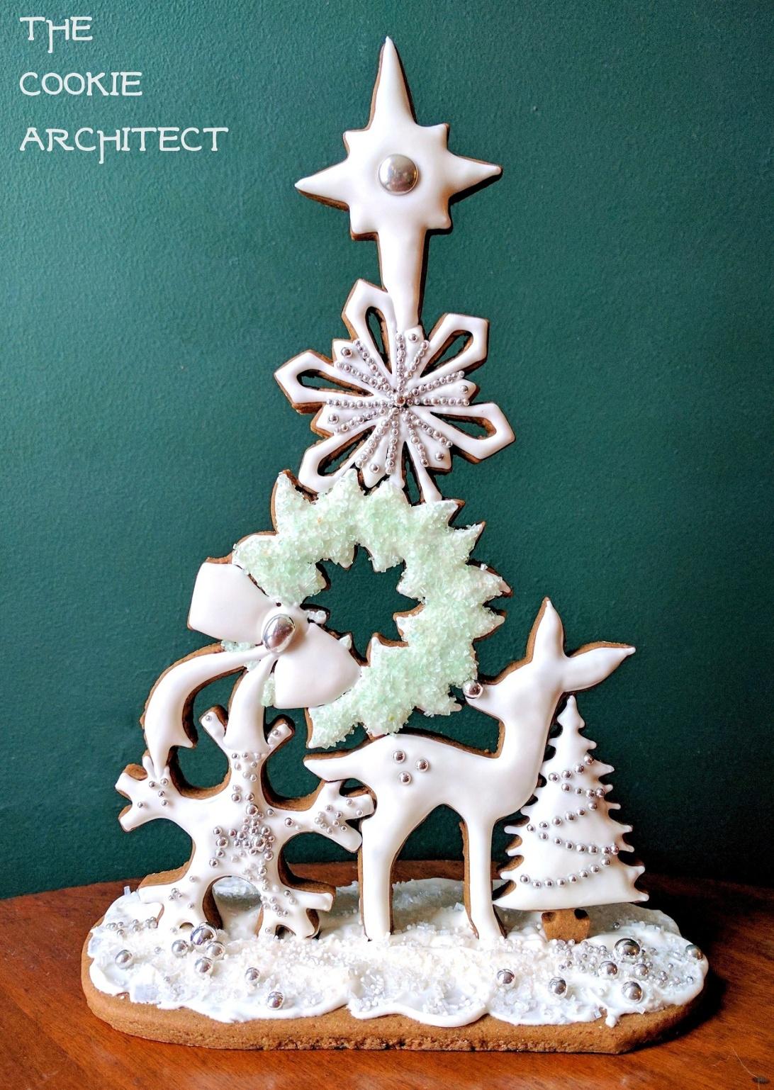 Winter Centerpiece, Gingerbread