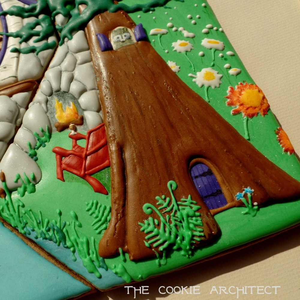 Creature Tree Home | The Cookie Architect