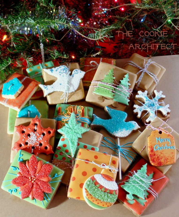 Christmas Cookie Gifts | The Cookie Architect