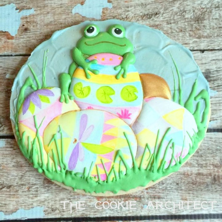 Frog steals the Easter Eggs | The Cookie Architect
