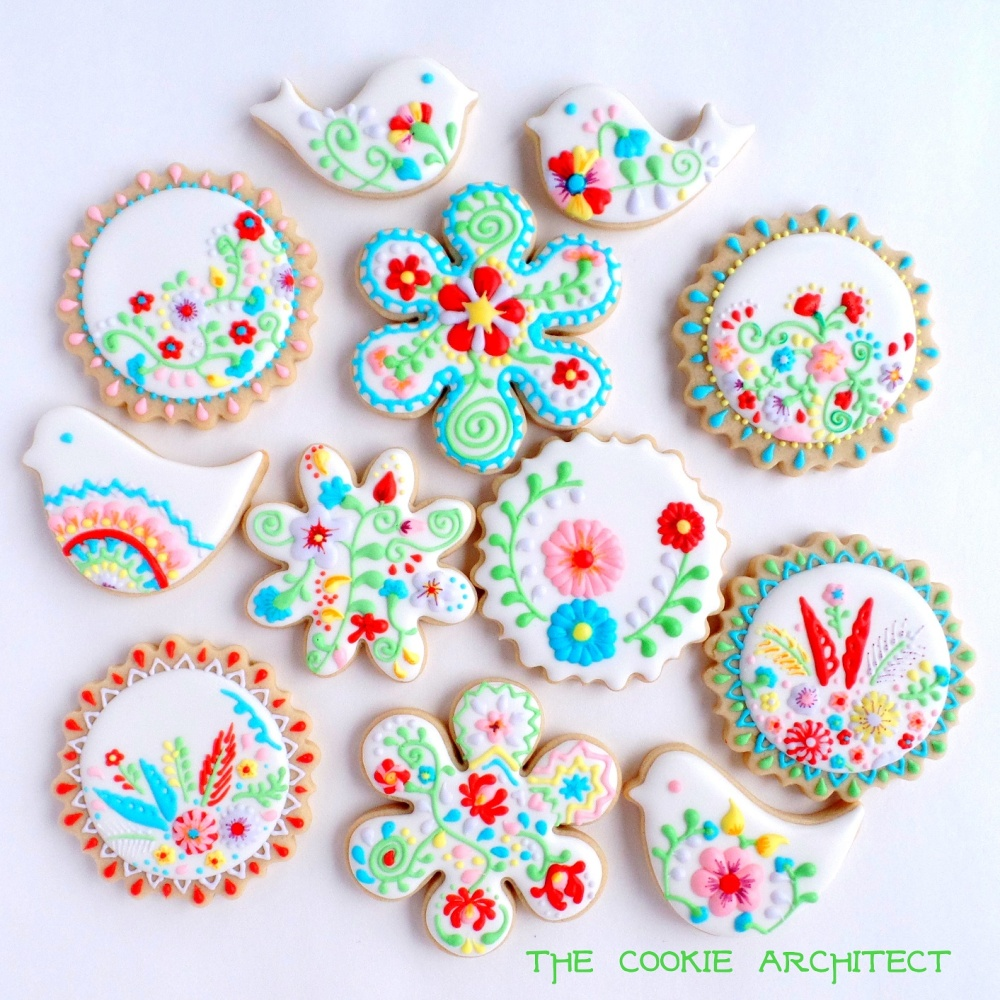 Mexican Medallions | The Cookie Architect