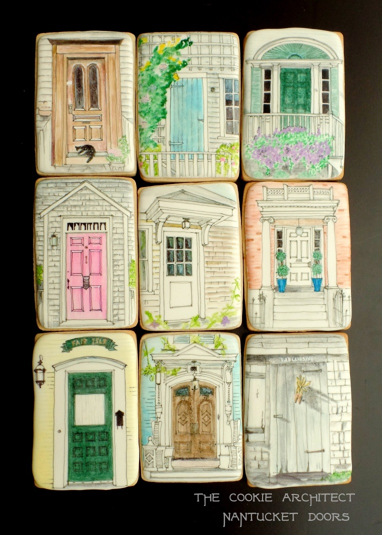 Nantucket Cookie Doors | The Cookie Architect