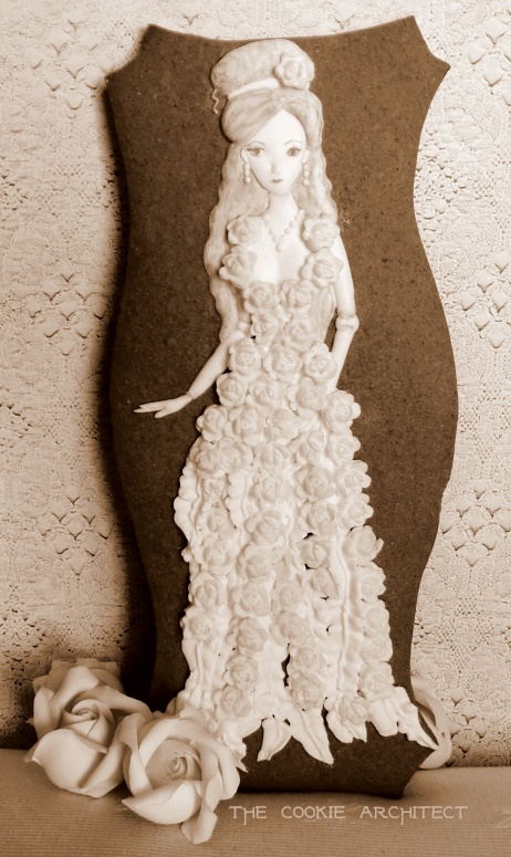Dark Sepia Doll | The Cookie Architect