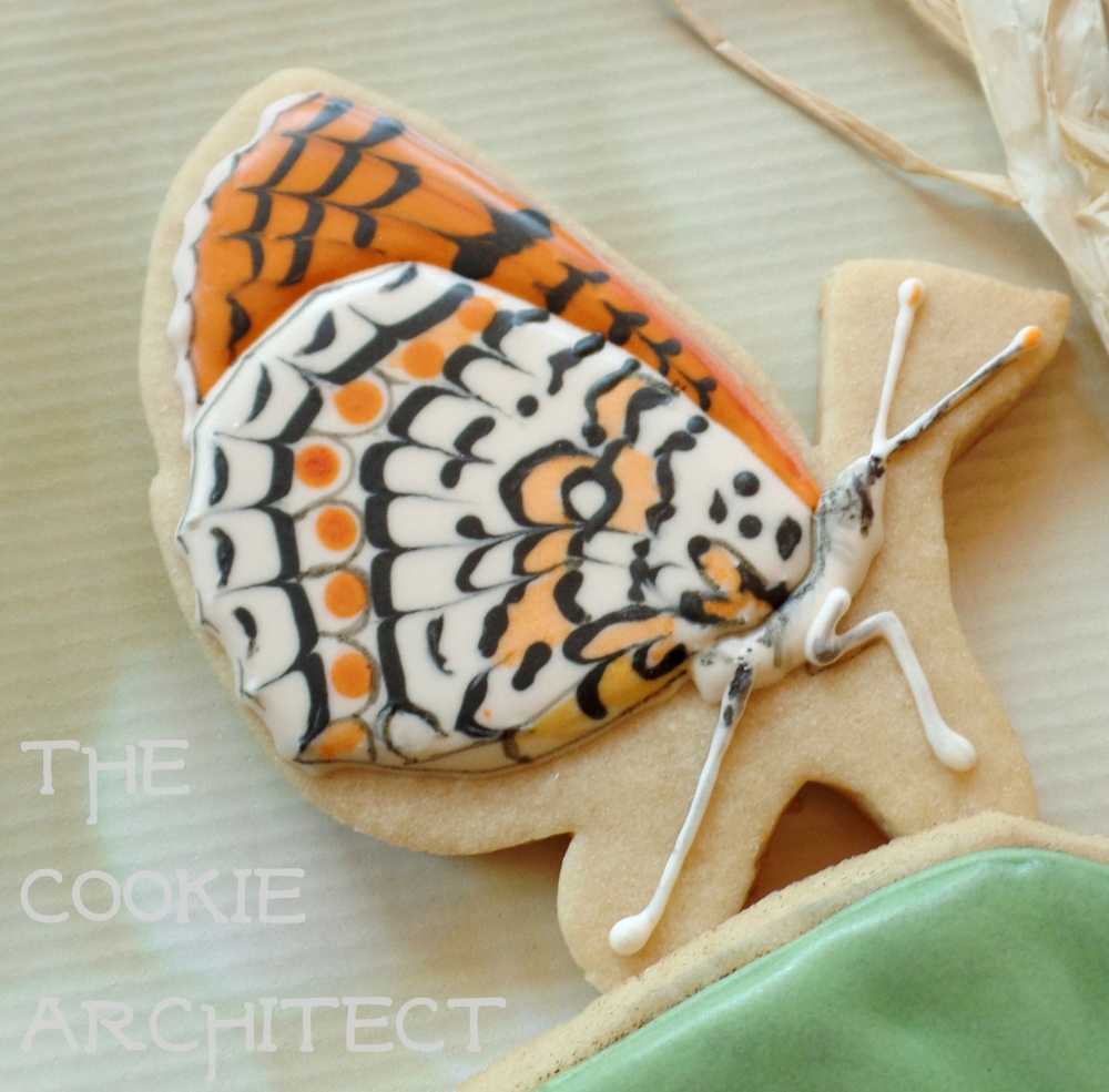 Striped Orange | The Cookie Architect