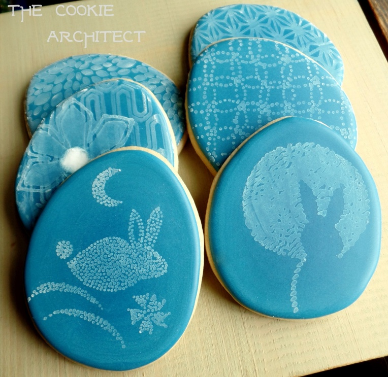 Shibori Easter Cookies | The Cookie Architect