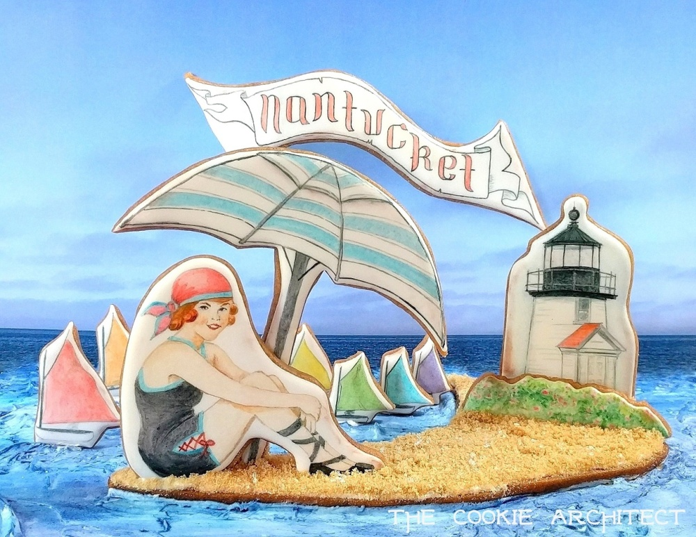 Nantucket Calendar Piece