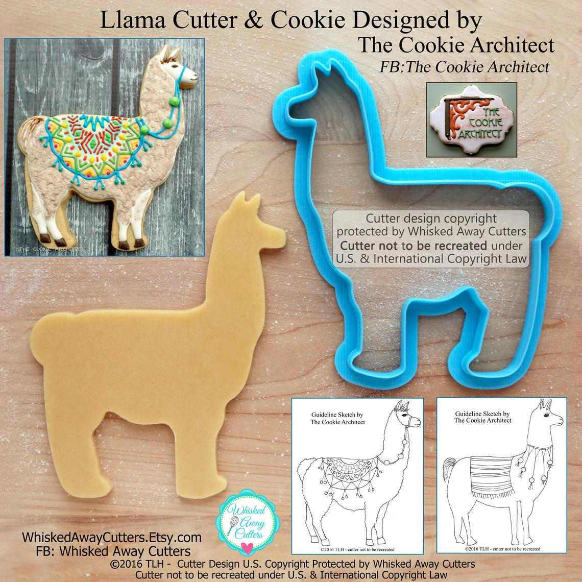 Llama and Alpaca Cutters at Whisked Away Cutters