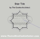 Moroccan Plaque Cutters at That's a Nice Cookie Cutter