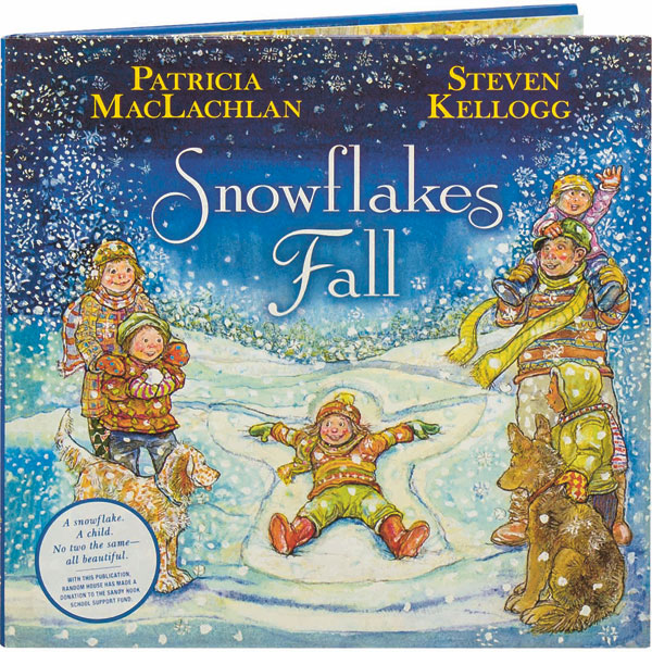 snowflakes fall book